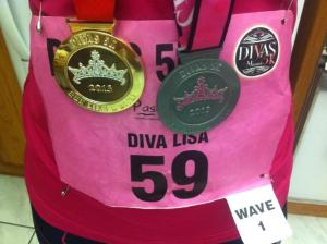 Close up of the medals, because that's why you clicked on this post, right?