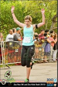 Another dorky finish line photo.