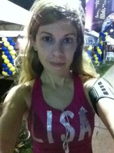Before the race selfie.